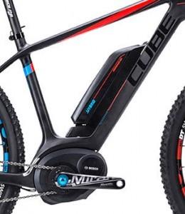 Cube E-Bike mit Mittelmotor