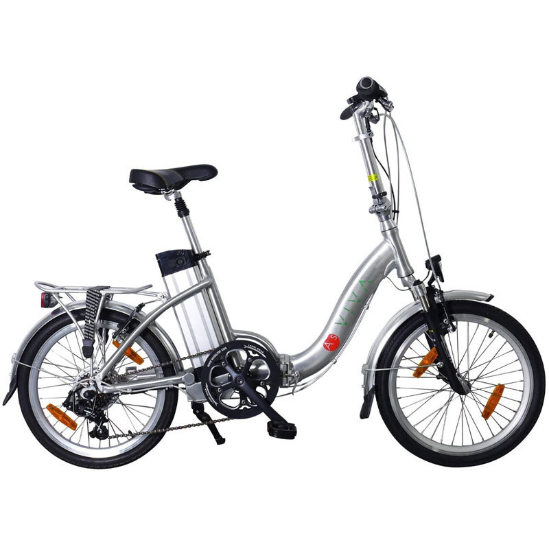 asviva b7 elektro klapprad power pedelec 20 zoll ebike. Black Bedroom Furniture Sets. Home Design Ideas