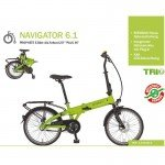 Zündapp Alu-Falt-E-Bike Green 1.0
