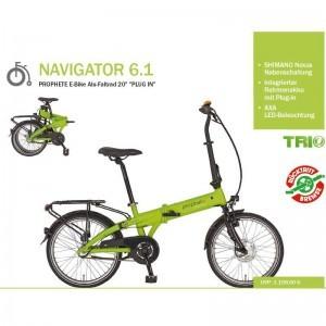 Zündapp Green 1.0 fats baugleich mit Prophete Navigator 6.1