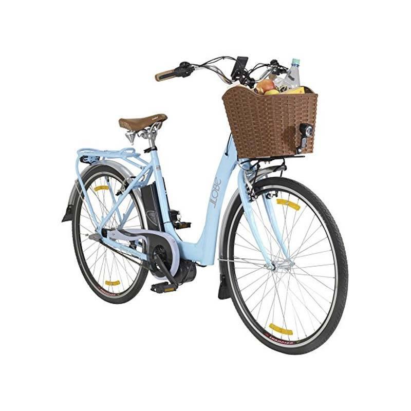 neu tiefeinsteiger city e bike llobe blue glider mittelmotor. Black Bedroom Furniture Sets. Home Design Ideas