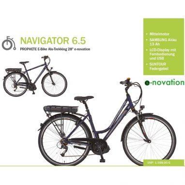 Prophete Navigator 6.5 Mittelmotor eBike