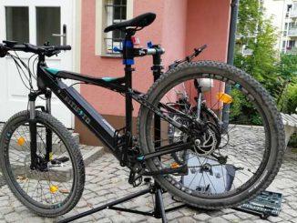 E-Bike in der Werkstatt