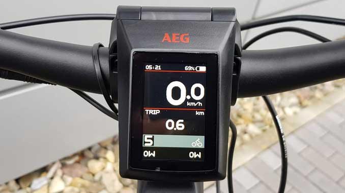 AEG TFT Display