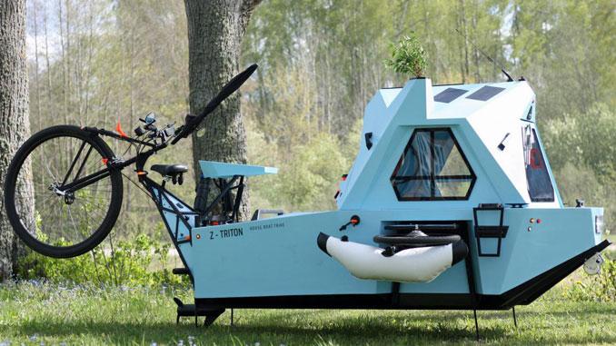Z-Triton als Boot