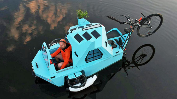 Bootsfahrt mit dem Z-Triton