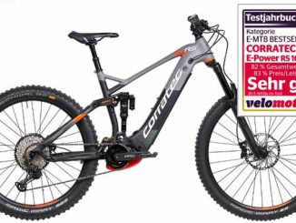 Neues Corratec EMTB E-Power RS 160 Pro