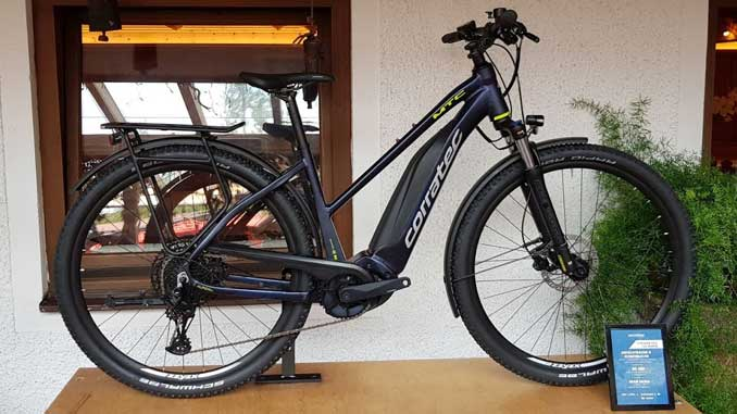 Corratec E-Power MTC-12S Trapez eBike