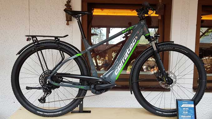 Corratec E-Power MTC-12S Trinity Tube eBike